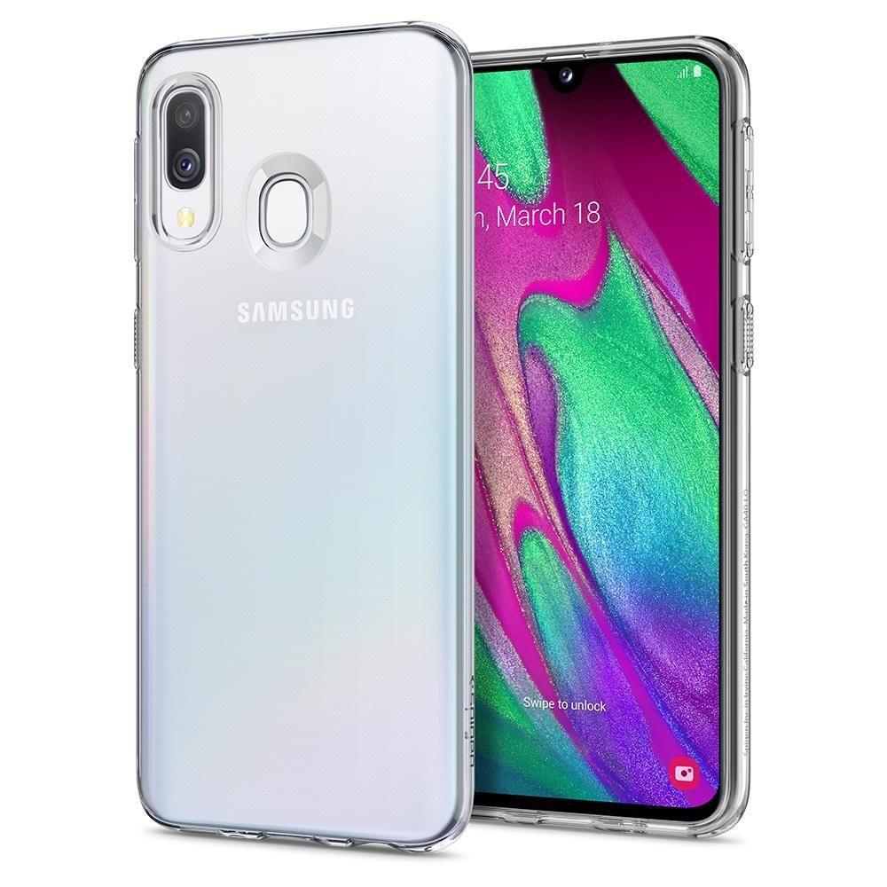 Spigen Liquid Crystal ovitek za Galaxy A40