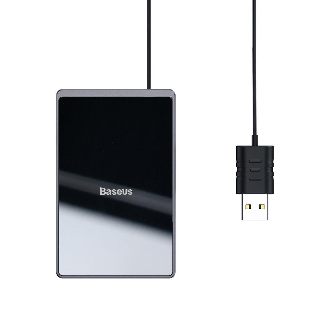 Baseus Ultra-thin brezžični polnilnik Qi 15W 100cm