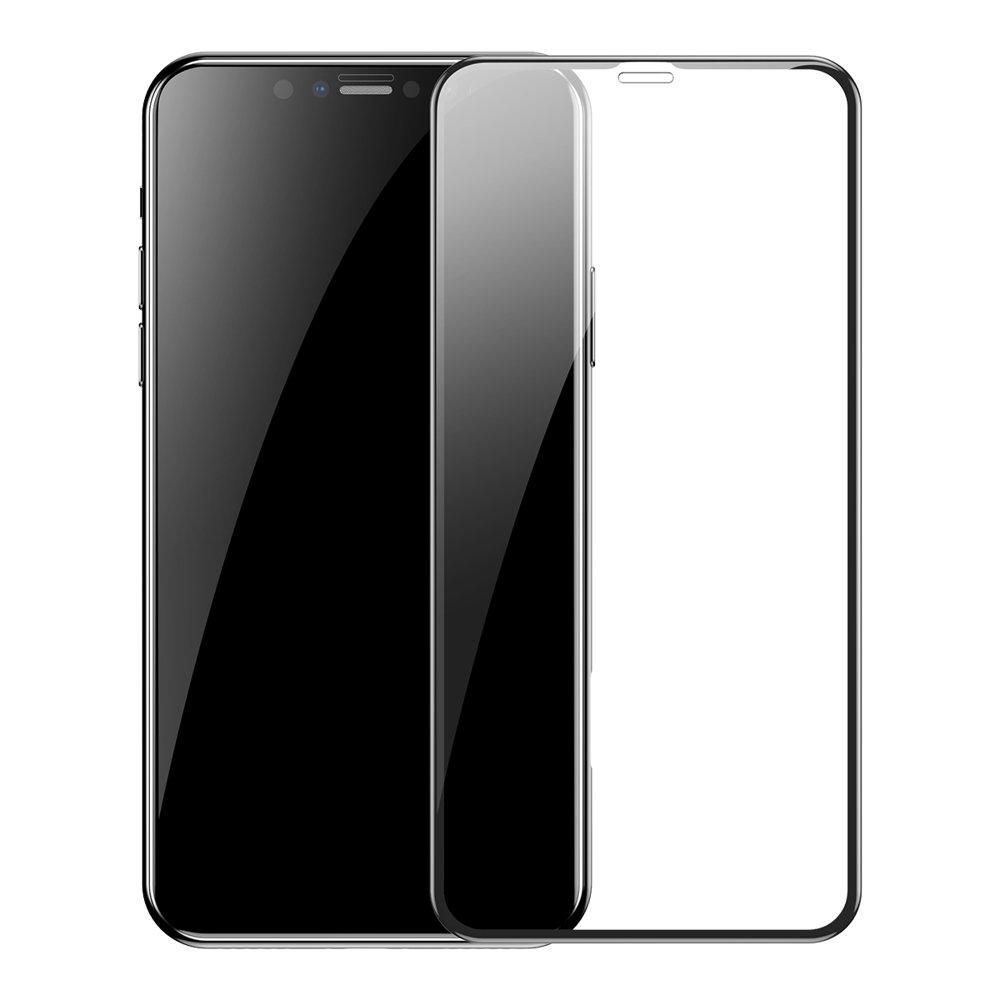 "Baseus steklo 0.3mm za iPhone 6.5"" 2xpcs črna"
