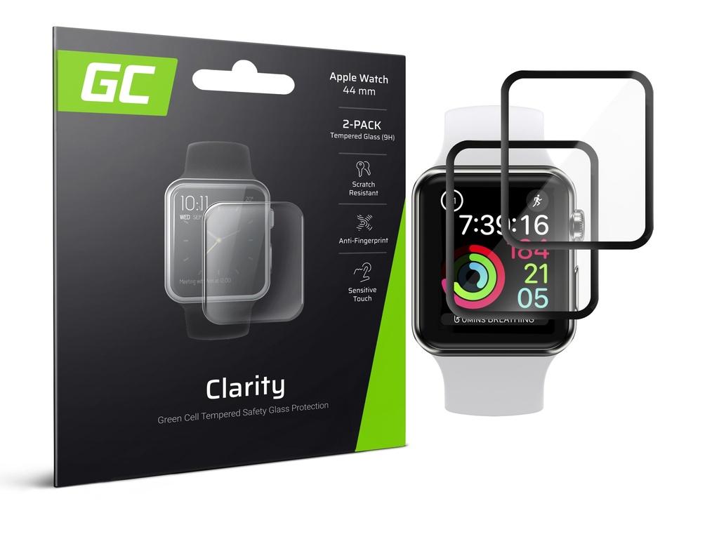 2x zaščita zaslona GC Clarity za Apple Watch 4/5 44mm