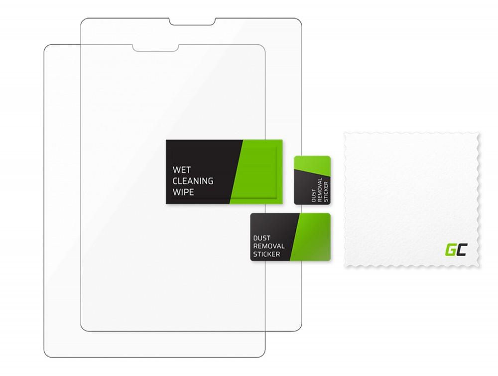 2x zaščita zaslona GC Clarity za Apple iPad Pro 12.9 (2018/2020)