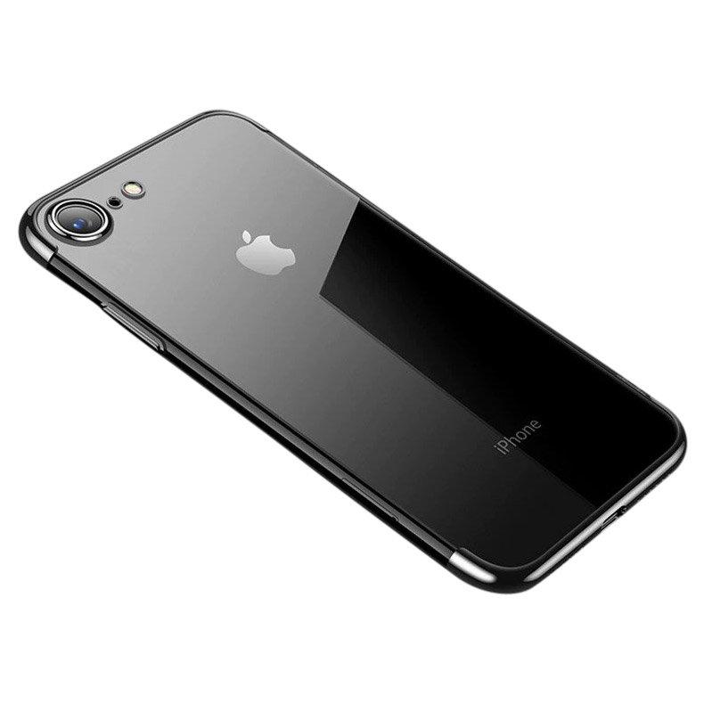 Clear Color TPU ovitek za iPhone SE 2020 / iPhone 8 / iPhone 7