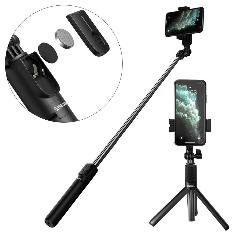 Baseus Selfie palica s teleskopskim stojalom in daljinskim upravljalnikom Bluetooth