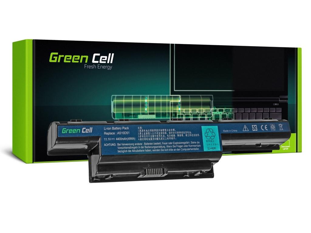 Baterija Green Cell za Acer Aspire 5740G 5741G 5742G 5749Z 5750G 5755G / 11,1V 4400mAh
