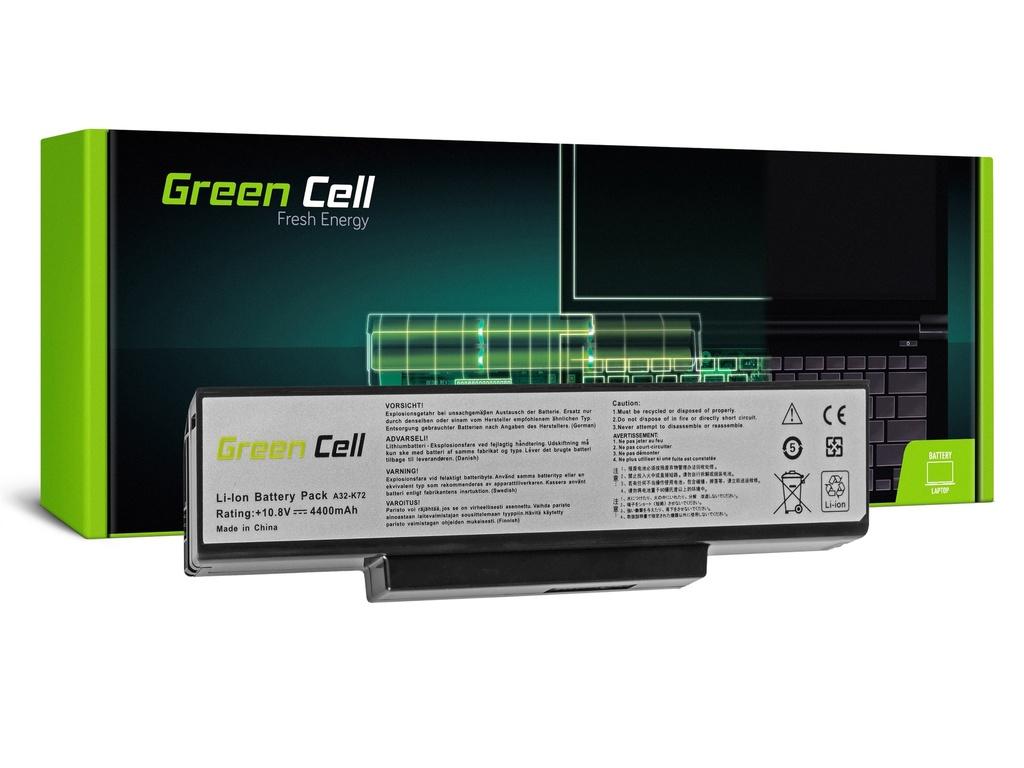 Baterija Green Cell za Asus A32-K72 K72 K73 N71 N73 / 11,1V 4400mAh