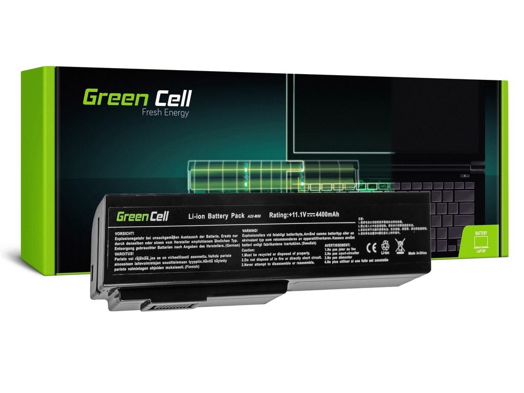 Baterija Green Cell za Asus A32-M50 A32-N61 N43 N53 G50 L50 M50 M60 N61VN / 11,1V 4400mAh