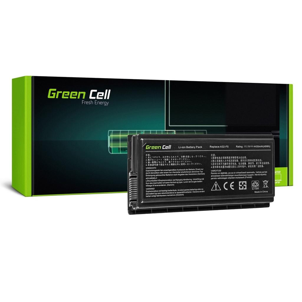 Baterija Green Cell za Asus F5N F5R F5V F5M F5RL Ks50 Ks50N Ks50RL / 11,1V 4400mAh