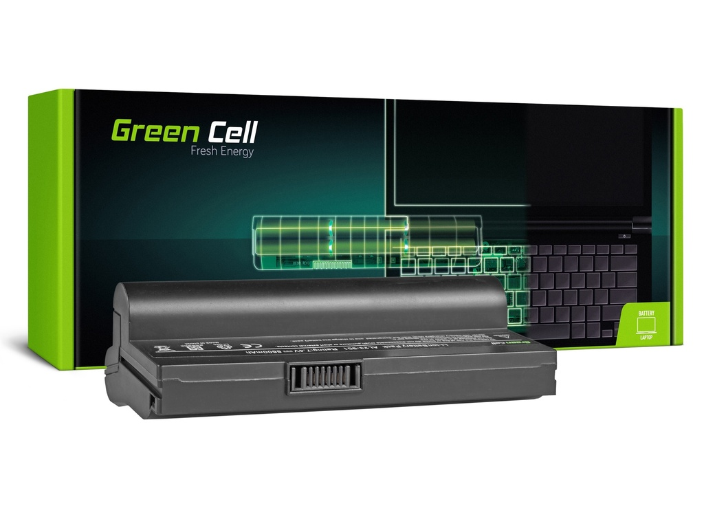 Baterija Green Cell za Asus Eee-PC 901 904 1000 1000H (crna) / 7,4V 8800mAh