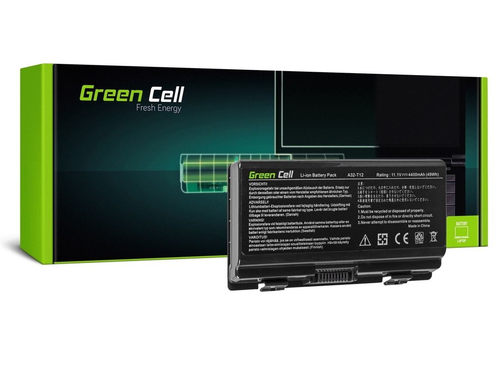 Baterija Green Cell za Asus X51 X58 / 11,1V 4400mAh