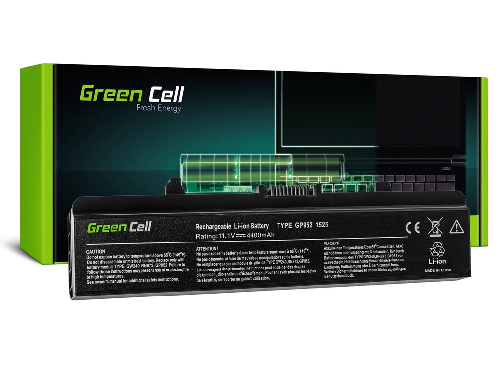 Baterija Green Cell za Dell Inspiron 1525 1526 1545 1546 PP29L PP41L