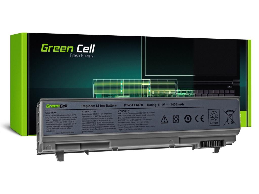 Baterija Green Cell za Dell Latitude E6400 E6410 E6500 E6510 / 11,1V 4400mAh