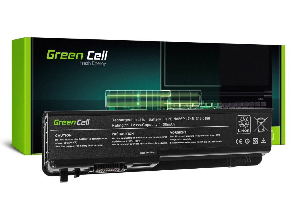 Baterija Green Cell za Dell Studio 17 1745 1747 1749 / 11,1V 4400mAh