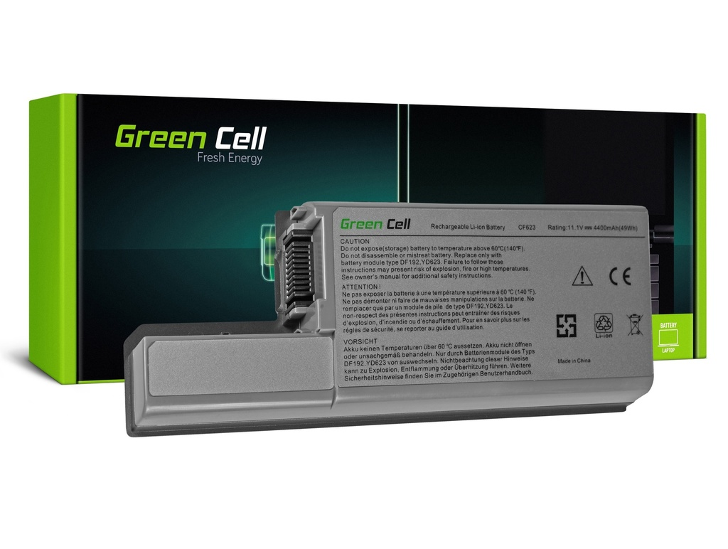 Baterija Green Cell za Dell Latitude D531 D531N D820 D830 PP04X / 11,1V 4400mAh