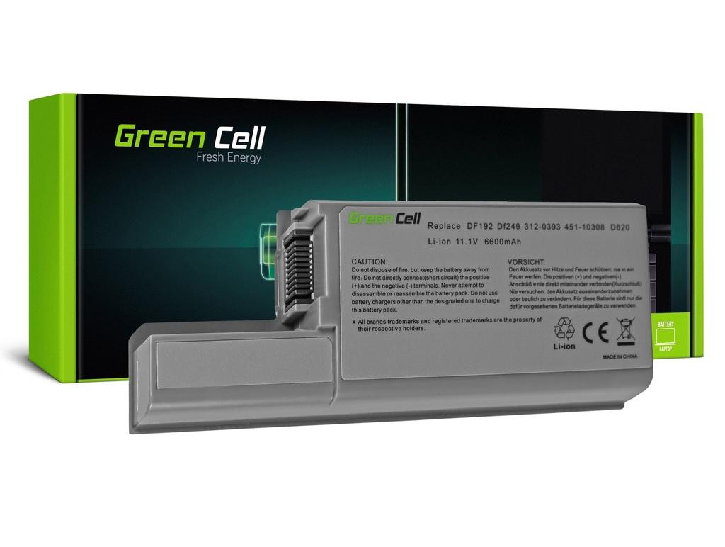 Baterija Green Cell za Dell Latitude D531 D531N D820 D830 PP04X / 11,1V 6600mAh