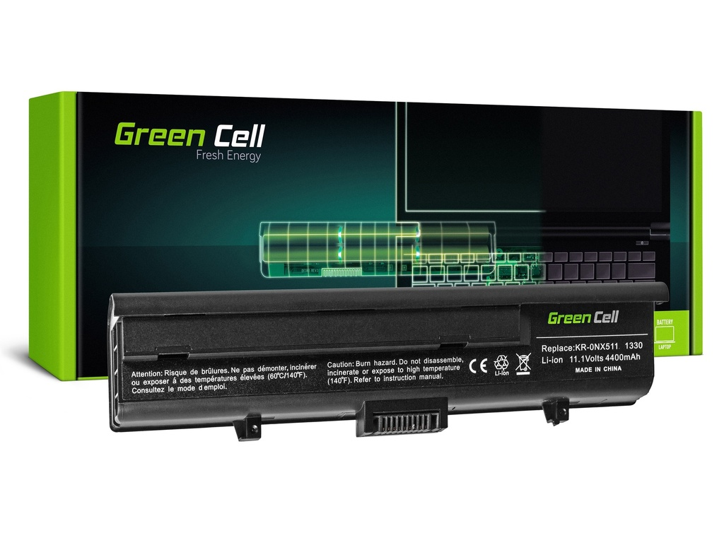 Baterija Green Cell za Dell XPS M1330 M1330H M1350 PP25L / 11,1V 4400mAh