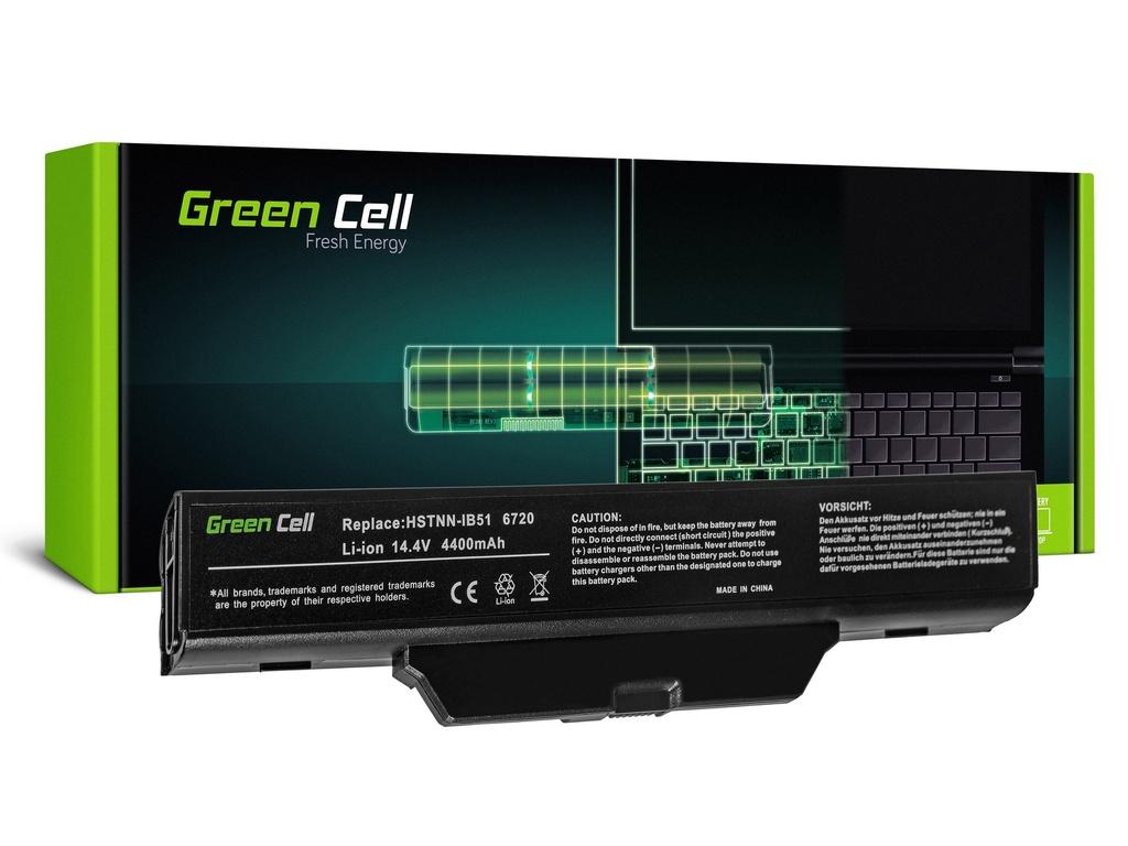 Baterija Green Cell za HP 550 610 HP Compak 6720s 6820s / 14,4V 4400mAh