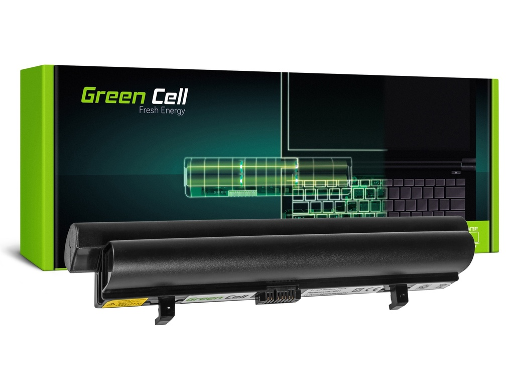 Baterija Green Cell za Lenovo IdeaPad S9 S9e S10 S10e S10C S12 (crna) / 11,1V 4400mAh