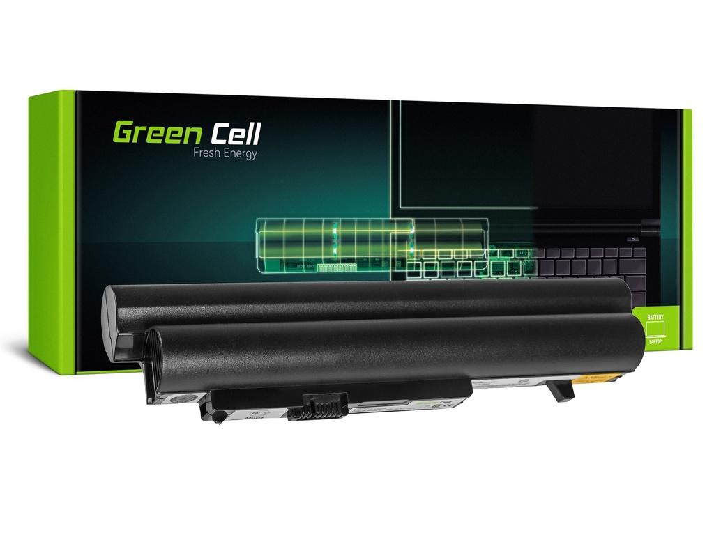 Baterija Green Cell za Lenovo IdeaPad S10-2 S10-2C S10-3c (crna) / 11,1V 4400mAh