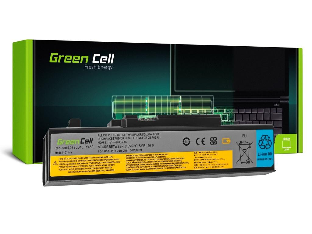 Baterija Green Cell za Lenovo IdeaPad Y450 Y450A Y450G Y550 Y550A Y550P / 11,1V 4400mAh