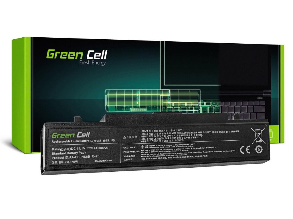 Baterija Green Cell AA-PB9NC6B za Samsung R519 R522 R530 R540 R580 R620 R719 R780 (črna) / 11,1V 4400mAh