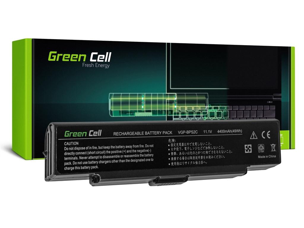 Baterija Green Cell za Sony Vaio PCG-7D1M VGN-FE650G VGN-FE890N / 11,1V 4400mAh