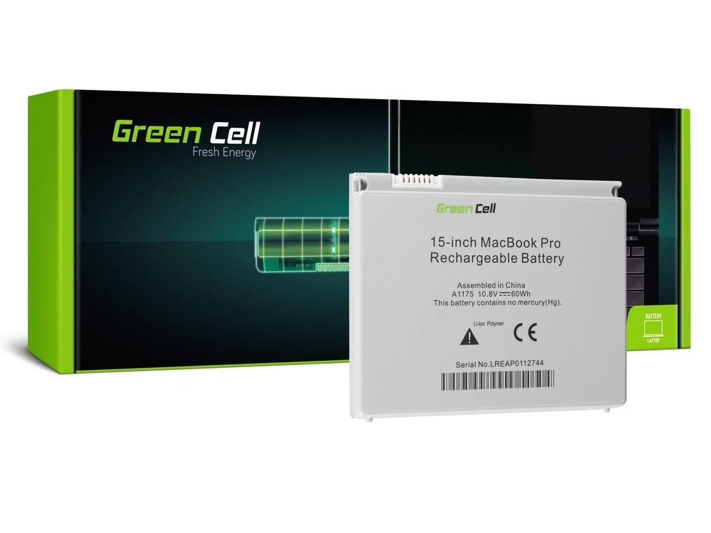 Baterija Green Cell za Apple Macbook Pro 15 A1150 A1211 A1226 A1260 2006-2008 / 11,1V 5200mAh