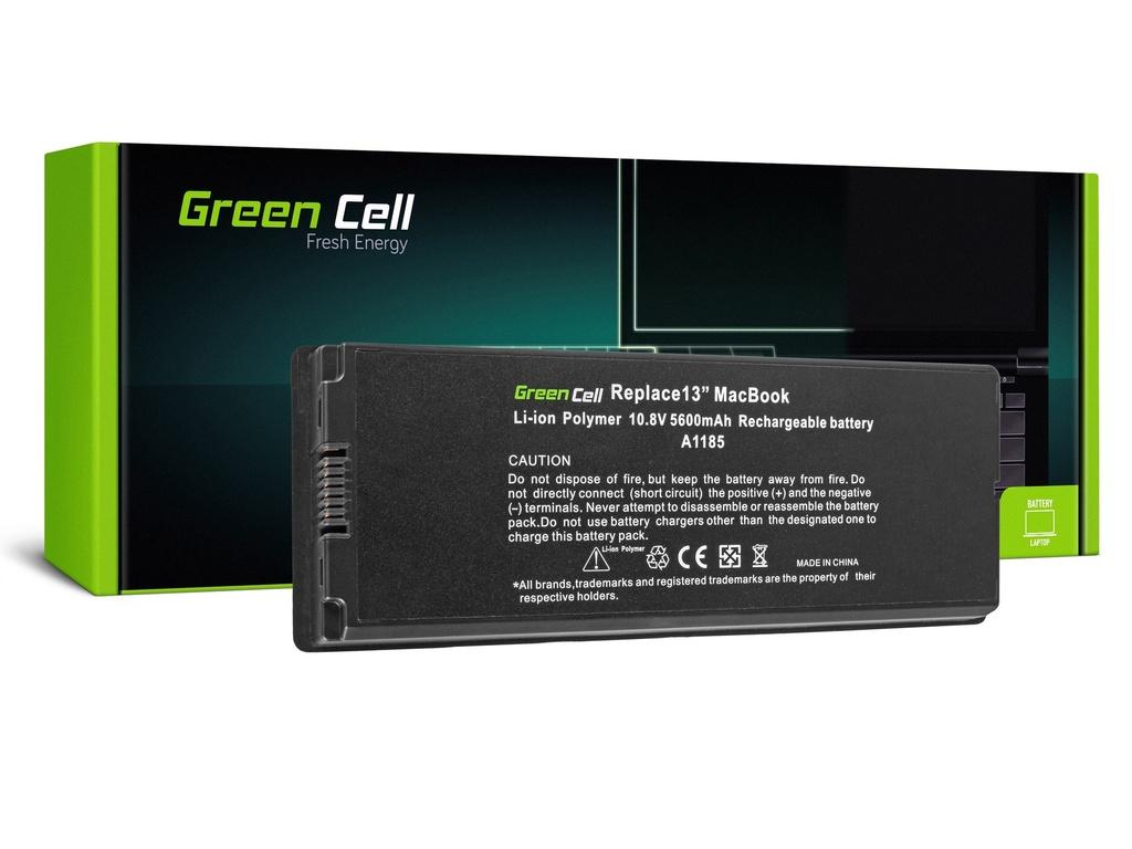 Baterija Green Cell za Apple Macbook 13 A1181 2006-2009 (crna) / 11,1V 5200mAh
