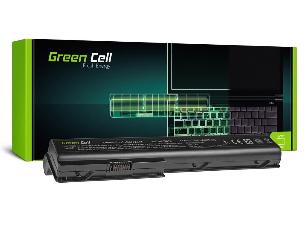 Baterija Green Cell za HP Pavilion DV7 DV7T DV7Z DV8 / 14,4V 6600mAh