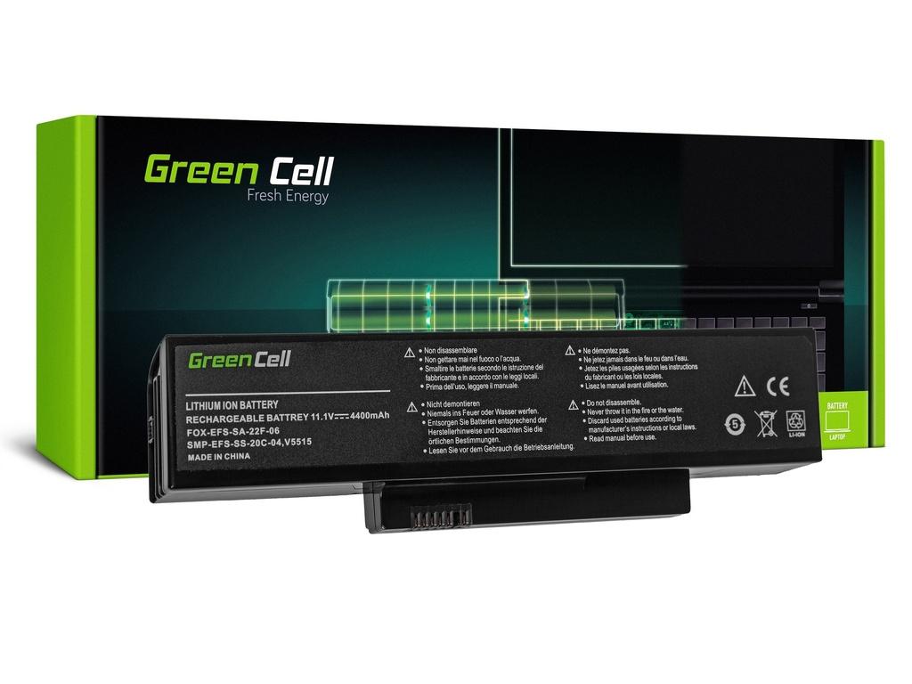 Baterija Green Cell za Fujitsu-Siemens Esprimo V5515 V5535 V5555 V6515 V6555 / 11,1V 4400mAh