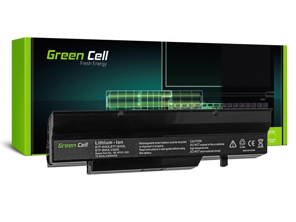 Baterija Green Cell za Fujitsu-Siemens Esprimo V5505 V6505 / 11,1V 4400mAh