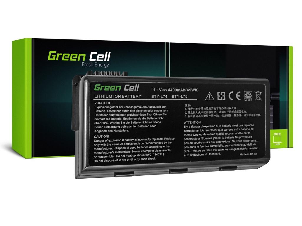 Green Cell baterija za MSI A6000 CR500 CR600 CR700 CX500 CX600 / 11,1V 4400mAh