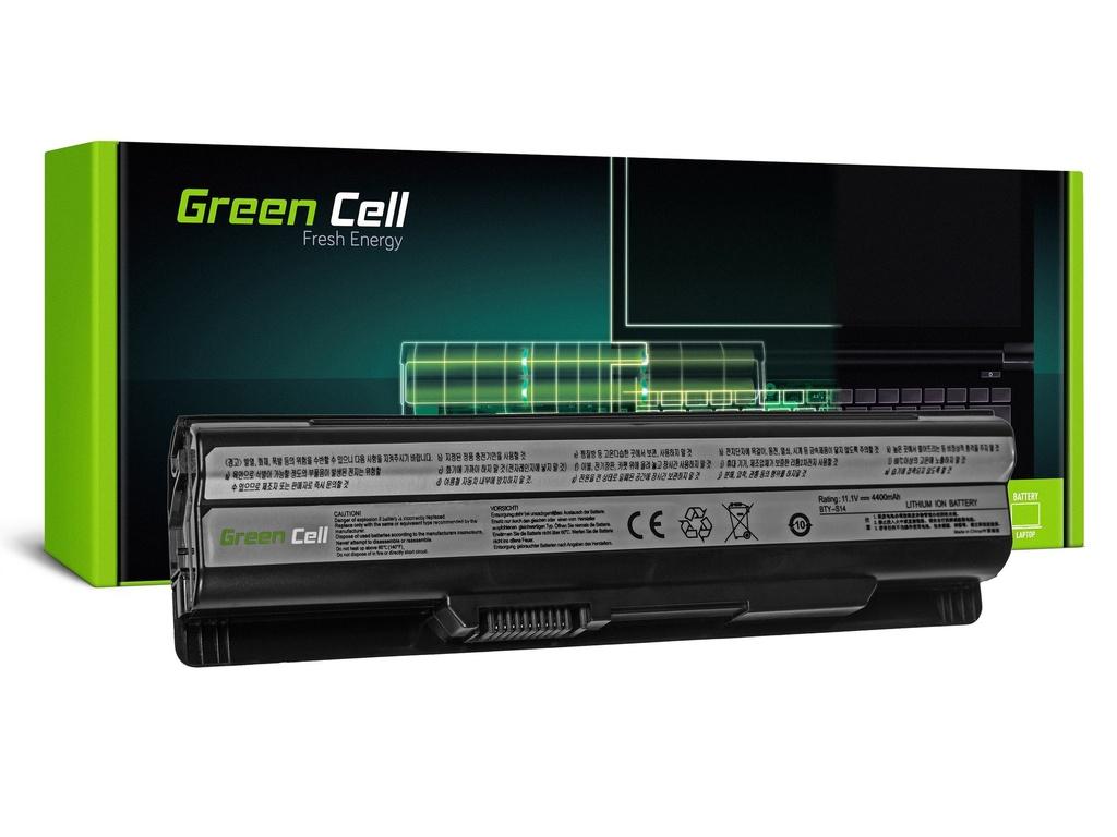 Green Cell baterija za MSI CR650 CX650 FX600 GE60 GE70 (črna) / 11,1V 4400mAh