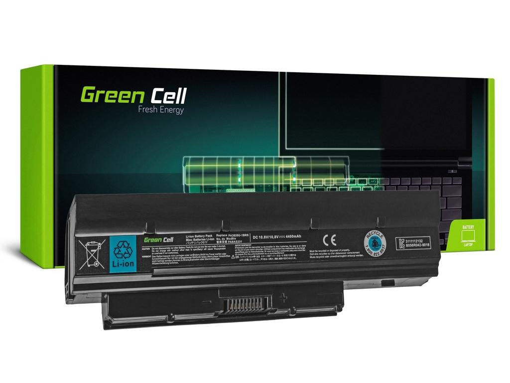 Baterija Green Cell za Toshiba DinaBook N200 N510 Mini NB500 NB505 NB520 NB550 / 11,1V 4400mAh