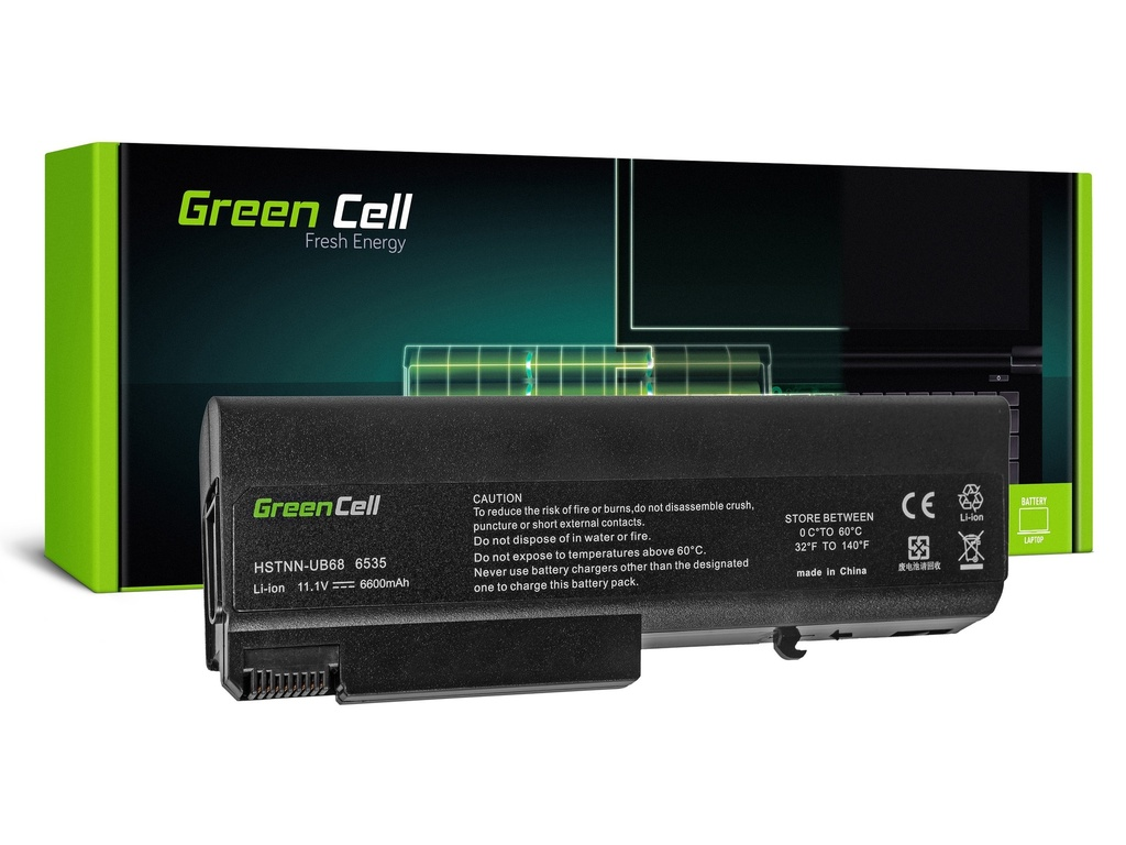 Baterija Green Cell za HP EliteBook 6930 ProBook 6400 6530 6730 6930 / 11,1V 6600mAh