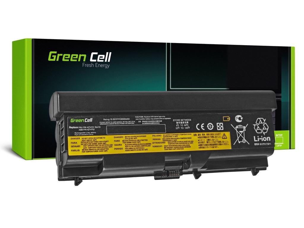 Baterija Green Cell za Lenovo ThinkPad T410 T420 T510 T520 V510 / 11,1V 6600mAh