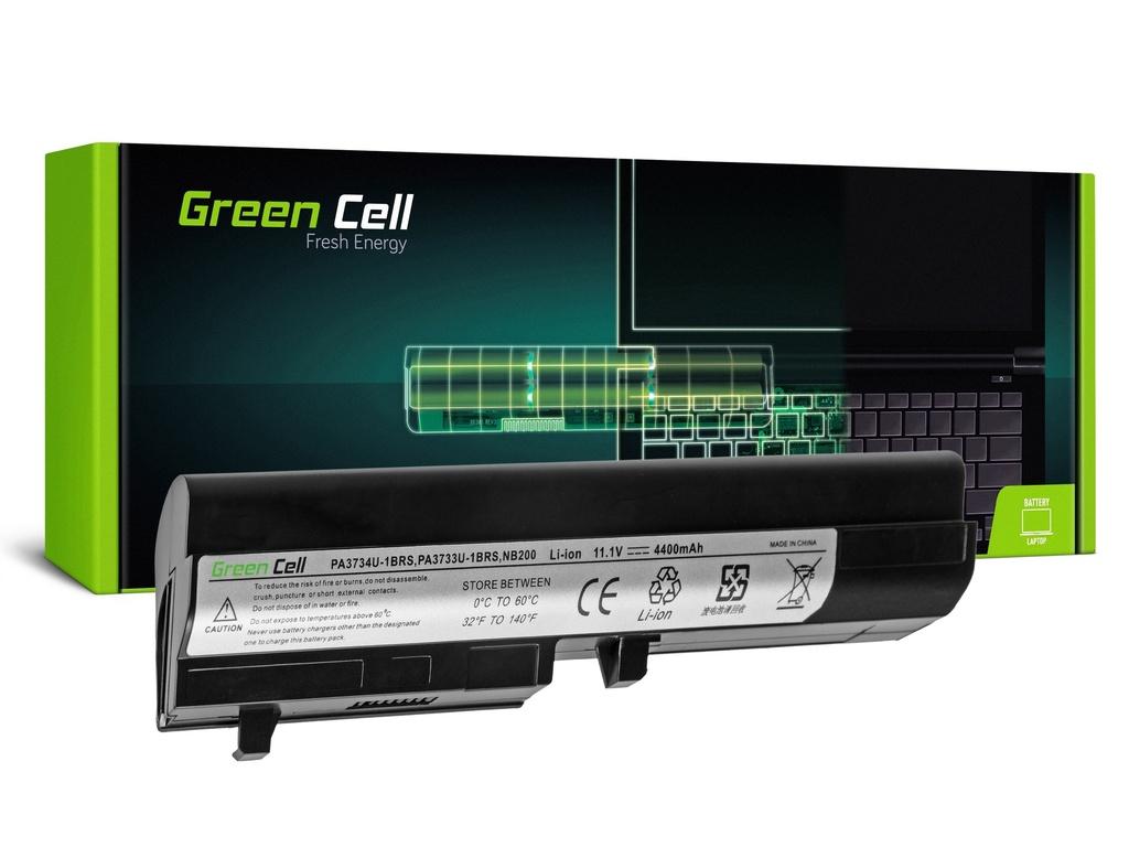 Baterija Green Cell za Toshiba Mini NB200 NB205 NB250 PA3732U-1BRS / 11,1V 4400mAh