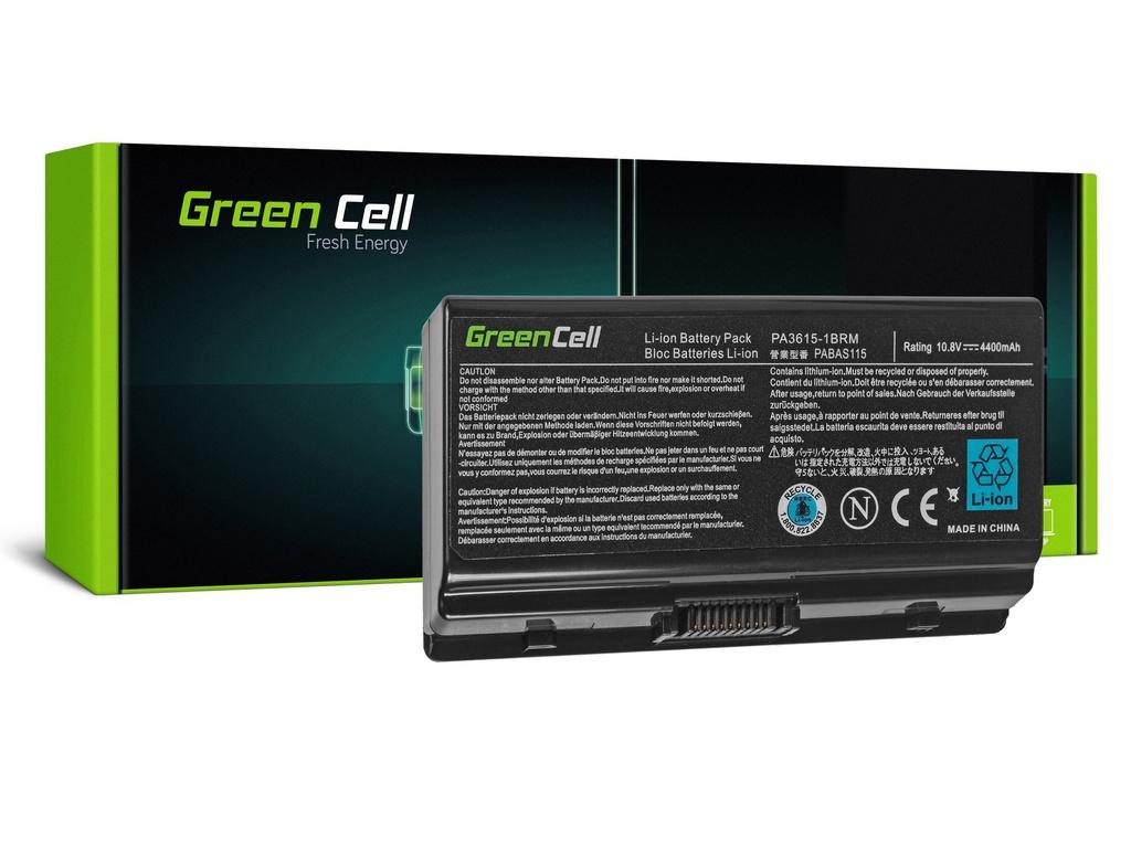 Baterija Green Cell za Toshiba Satellite L40 L45 L401 L402 PA3591U-1BRS / 11,1V 4400mAh