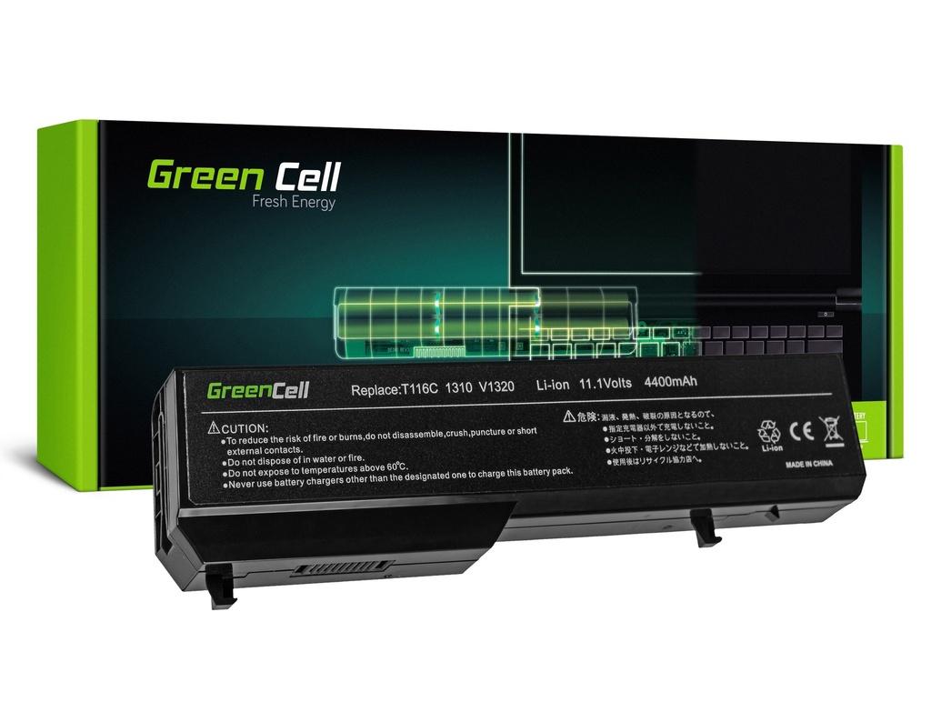 Baterija Green Cell za Dell Vostro 1310 1320 1510 1511 1520 2510 / 11,1V 4400mAh