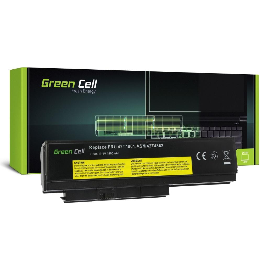 Baterija Green Cell za Lenovo ThinkPad X220 X220i X220s / 11,1V 4400mAh