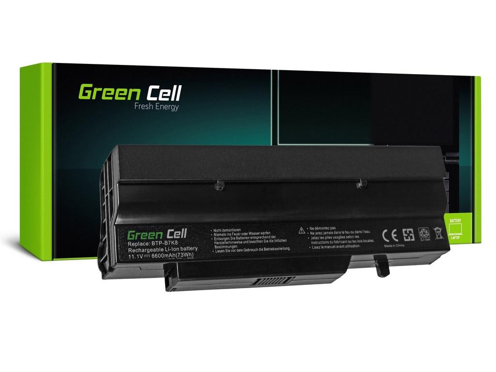 Baterija Green Cell za Fujitsu-Siemens Esprimo V5505 V6505 / 11,1V 6600mAh
