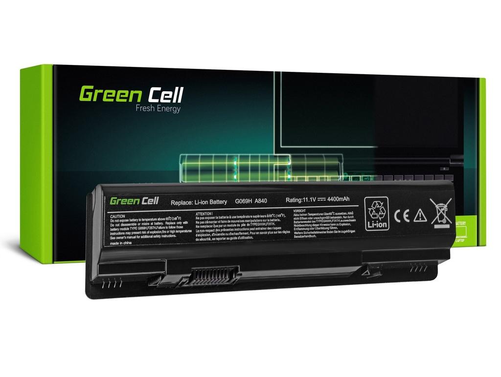 Baterija Green Cell za Dell Vostro 1014 1015 1088 A840 A860 / 11,1V 4400mAh