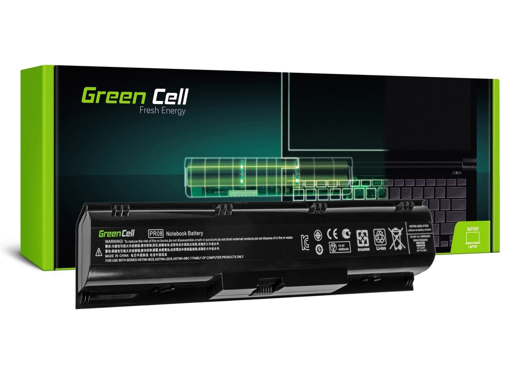 Baterija Green Cell za HP ProBook 4730 4740 / 14,4V 4400mAh