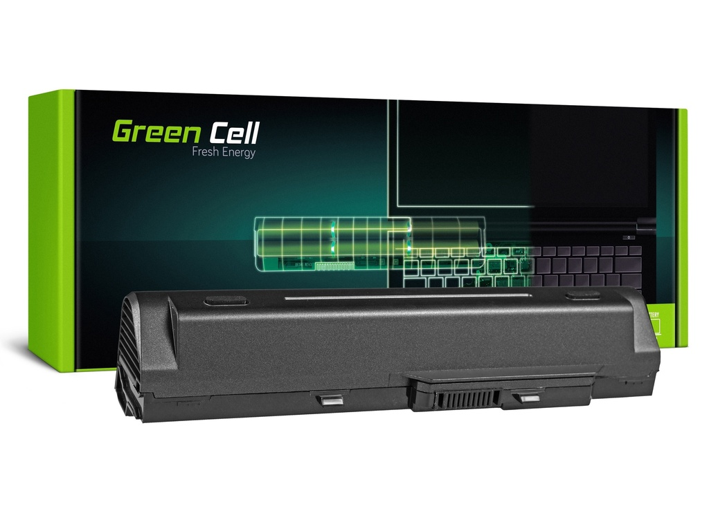 Green Cell baterija za MSI Wind U91 L2100 L2300 U210 U120 U115 U270 (črna) / 11,1V 6600mAh