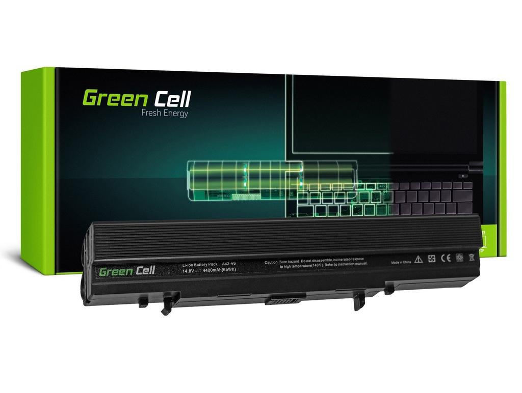 Baterija Green Cell za Asus Lamborghini V6 V6V V6000 VKS1 / 14,4V 4400mAh