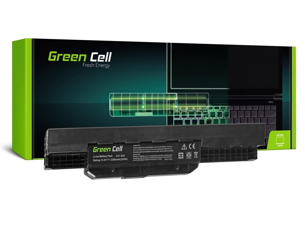 Baterija Green Cell za Asus A31-K53 X53S X53T K53E / 14,4V 2200mAh