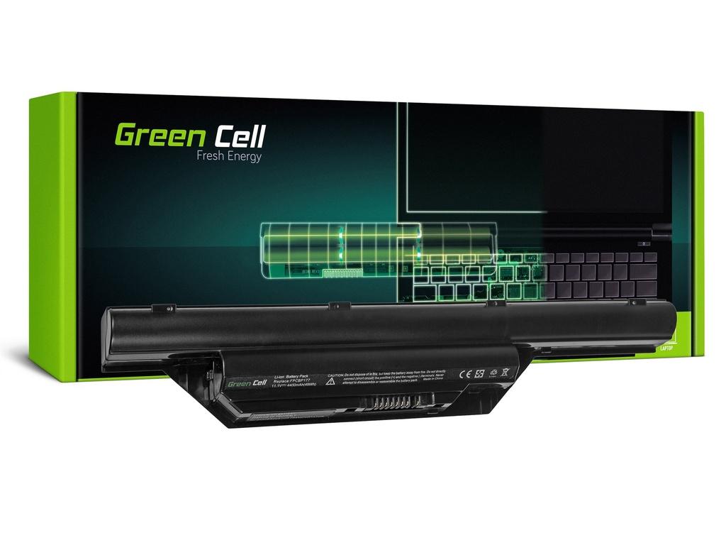 Baterija Green Cell za Fujitsu-Siemens LifeBook S6410 S7210 / 11,1V 4400mAh