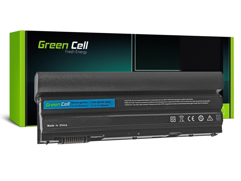 Baterija Green Cell za Dell Latitude E5520 E6420 E6520 E6530 (rear) / 11,1V 6600mAh