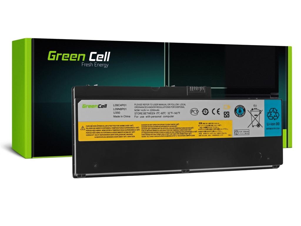 Baterija Green Cell baterija za Lenovo IdeaPad U350 U350V / 14,4V 1800mAh