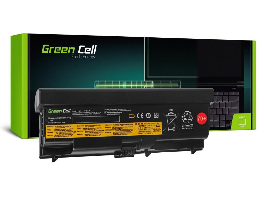 Baterija Green Cell za Lenovo ThinkPad L430 L530 T430 T530 V530 / 11,1V 6600mAh