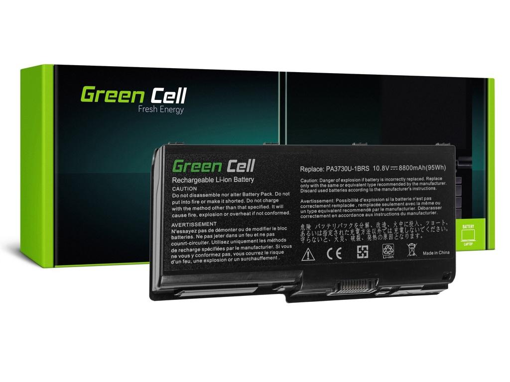 Baterija Green Cell za Toshiba Qosmio X500 X505 Satellite P500 P505 P505D / 11,1V 8800mAh